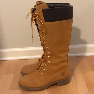 Women's Knee High Timberland Boots